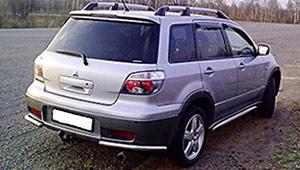 Междугороднее такси Черкассы - Mitsubishi Outlander, 9 грн за 1 км