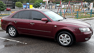 Междугороднее такси Черкассы - Hyundai Sonata, 8 грн за 1 км