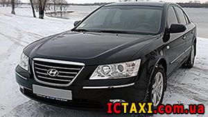 Междугороднее такси в Днепре - Hyundai Sonata, 9 грн за 1 км