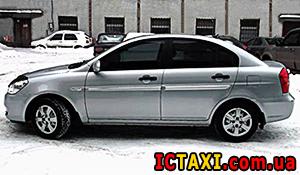 Междугороднее такси Хмельницкий - Hyundai Accent, 8 грн за 1 км