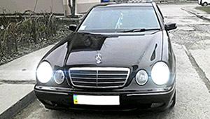 Междугороднее такси Ивано-Франковска - Mercedes Benz E