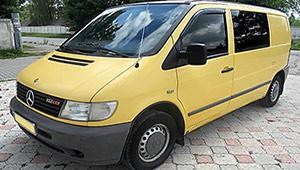 Междугороднее такси в Ивано-Франковске - Mercedes Vito, 12 грн за 1 км