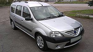 Междугороднее такси Харькова - Dacia Logan MCV, 8 грн за 1 км