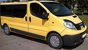 Междугороднее такси Харькова - Renault Trafic