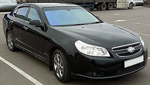 Междугороднее такси Херсона - Chevrolet Epica, 8 грн за 1 км