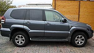 Междугороднее такси Киев - Toyota Prado, 15 грн за 1 км