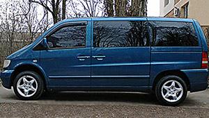 Междугороднее такси Кропивницкий - Mercedes Vito, 12 грн за 1 км