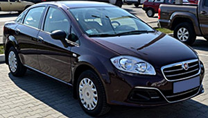 Междугороднее такси Кривого Рога - Fiat Linea