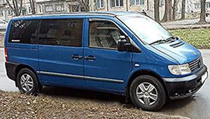 Междугороднее такси Кривой Рог - Mercedes Benz Vito, 12 грн за 1 км
