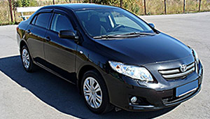 Междугороднее такси Кривой Рог - Toyota Corolla, 9 грн за 1 км