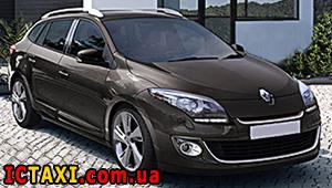 Междугороднее такси Львова - Renault Megane, 9 грн за 1 км
