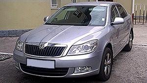 Междугороднее такси Львова - Skoda Octavia A5, 8 грн за 1 км