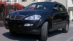 Междугороднее такси Львова - SsangYong Kyron, 8,5 грн за 1 км