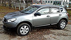 Междугороднее такси в Николаеве - Nissan Qashqai, 8,5 грн за 1 км