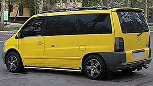 Междугороднее такси Одессы - Mercedes-Benz Vito