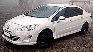 Междугороднее такси в Одессе - Peugeot 408