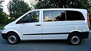 Междугороднее такси в Одессе - Mercedes-Benz Vito 111, 14 грн за 1 км