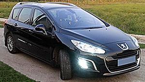 Междугороднее такси в Полтаве - Peugeot 308 SW, 8 грн за 1 км