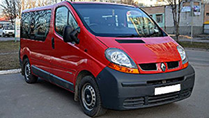 Междугороднее такси в Полтаве - Renault Trafic, 12 грн за 1 км
