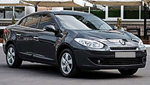 Междугороднее такси Сумы - Renault Fluence, 9 грн за 1 км