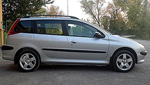 Междугороднее такси в Виннице - Peugeot 206 SW, 8 грн за 1 км