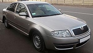 Междугороднее такси в Виннице - Skoda SuperB, 8 грн за 1 км